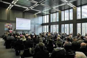 Dr.-Ing. Stefan Hartung referierte zum Thema Digitalisierung als Innovationstreiber von Technologien und Geschäftsmodellen